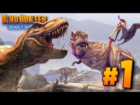 HUNTING DINOSAURS!!  REBORN Dino Hunter: Deadly Shores  Ep1 HD