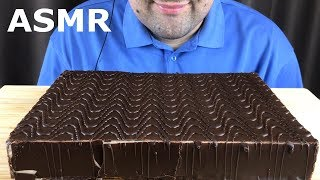 ASMR CHOCOLATE CAKE FILLED CREAM SOUFFLE (Most Popular Russian Cake) Eating Sounds MUKBANG *No Talk*