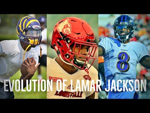The Evolution story of Lamar Jackson Mini Doc NFL