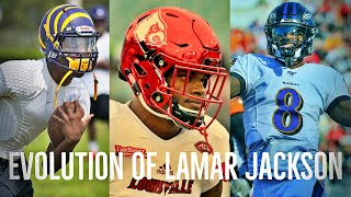 The Evolution story of Lamar Jackson Mini Doc