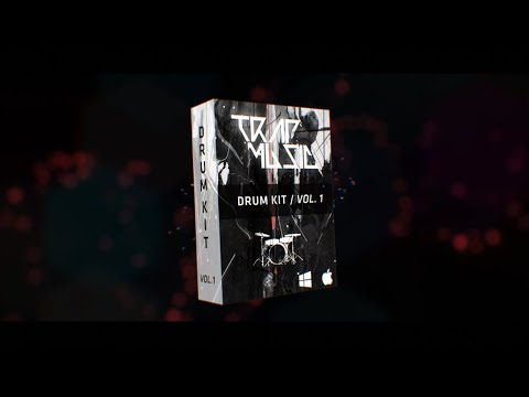 Trap Music Drum Kit / Vol. 1 (Sample Pack)