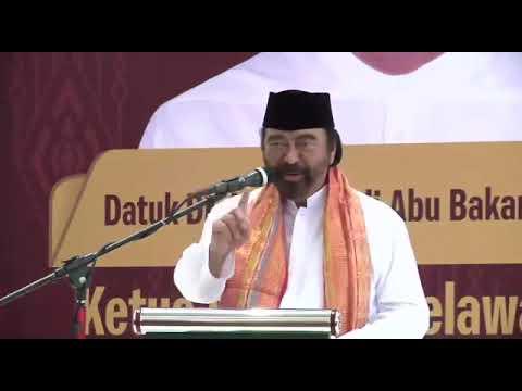 Surya Paloh Apresiasi Pakatan Relawan Melayu, Tepat Dukung Jokowi