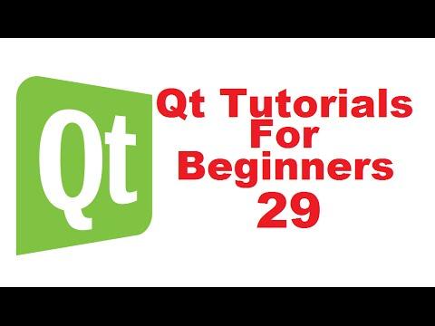 Qt Tutorials For Beginners 29 - QFontDialog