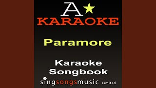 Decode (Acoustic Version) (Originally Performed By Paramore) (Karaoke Audio Version)