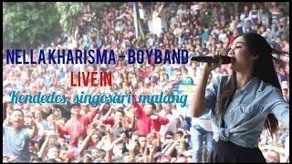 Nella Kharisma Boy Band Live Singosari Malang