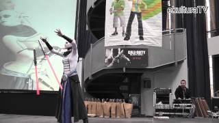 Cosplay performance: Bálint Diána - 8. HoldfényCon - ekulturaTV
