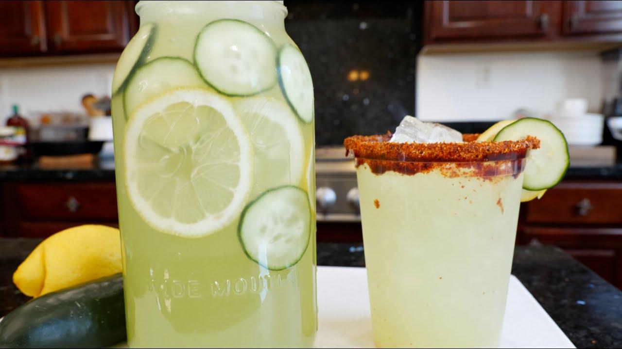 BEST REFRESHING CUCUMBER LEMONADE | Aguas Frescas Recipe