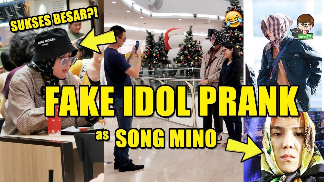 Fake Kpop Idol Prank As Song Mino Winner Epic Youtube