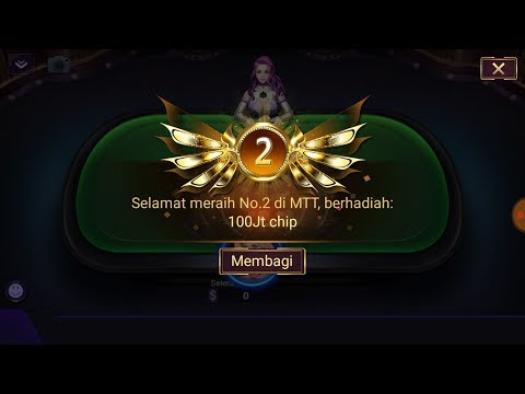 TERBONGKAR!!! Trik Menang MTT Di Poker Time