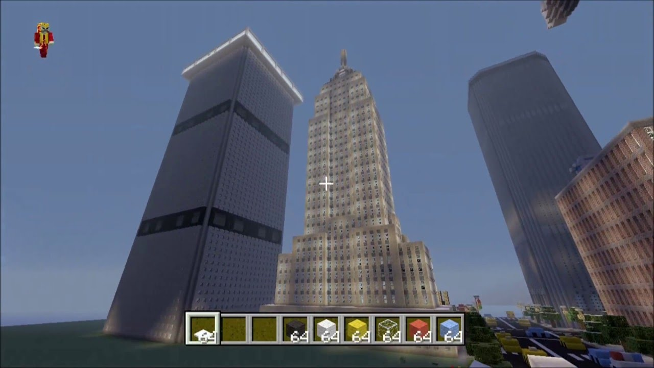 Map New York Minecraft Xbox.Minecraft Xbox 360 New York City