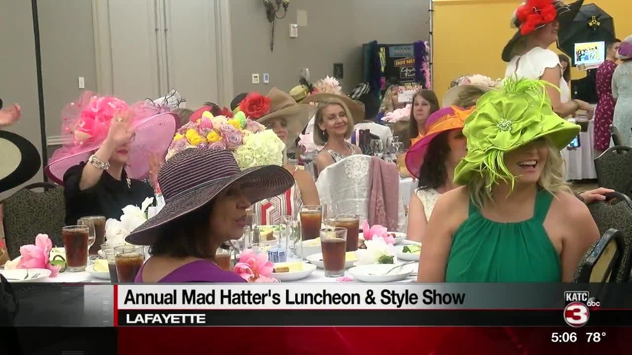 Acadiana Symphony Holds Annual Mad Hatter S Luncheon Youtube