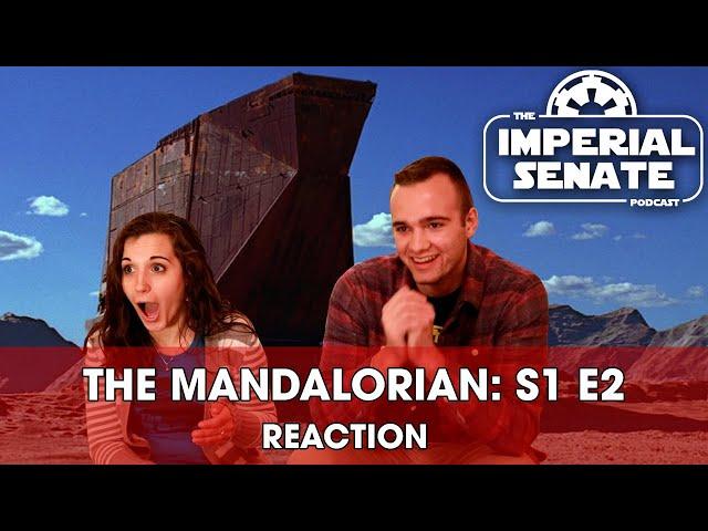 The Mandalorian: Episode Two (REACTION) S1E2