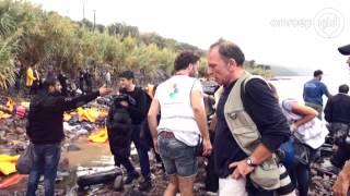 Gelderlanders helpen vluchtelingen op Lesbos: