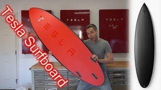 Tesla Motors Made A Surfboard?! YES They Did...