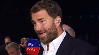 'I'M DISGUSTED!' - Eddie Hearn discusses Jarrell Miller & potential opponents for Anthony Joshua