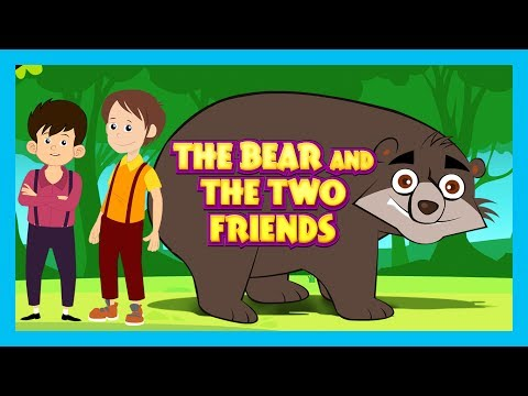 THE BEAR AND THE TWO FRIENDS (Full HD Story) - Stories For Kids || STORIES - Kids Storytelling