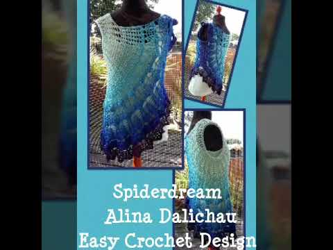 Spiderdream Design Alina Dalichau Easy Crochet Design Youtube