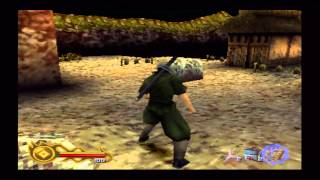Tenchu 2: Birth of the Stealth Assassins Rikimaru Walkthrough PS1 HD Level 1 - First Mission