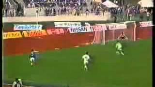 1996年 Jリーグ  横浜マリノス 0x1 鹿島アントラーズ