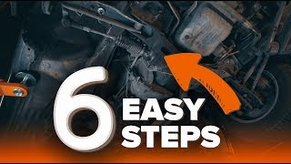 RENAULT SANDERO / STEPWAY online video on DIY maintenance - How to fix a knocking and creaking suspension | AUTODOC