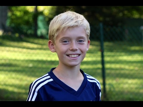 Soccer – trick shots by 9 year old (part 3)