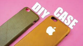 DIY Apple Leather Case for iPhone 6/6s