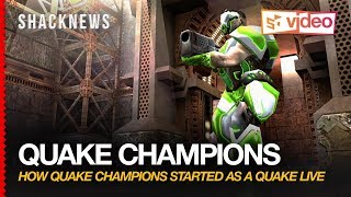 Quake Champions:  How Quake Champions Started as a Quake Live Expansion