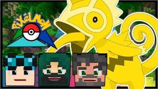 NEW ISLAND, GOLDEN BOSS & SHINY TRIPLET TRADING!? | Pokémon Trinity | Minecraft #15
