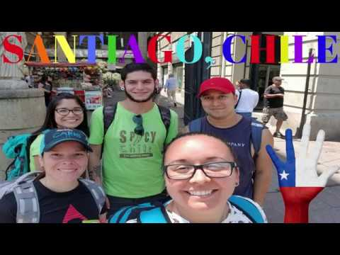 TRAVEL VLOG: WELCOME TO SANTIAGO, CHILE!