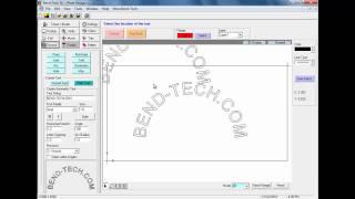 bend tech sm sheet metal design software path text and bridging 2