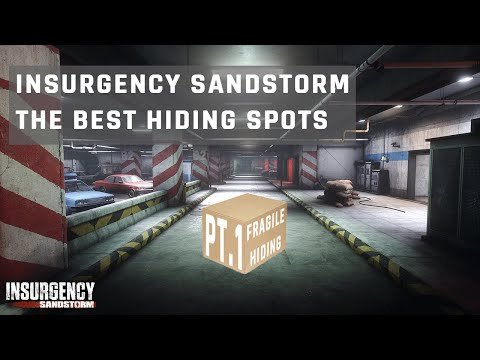 Insurgency Sandstorm Best Hiding Spots Pt.1 |