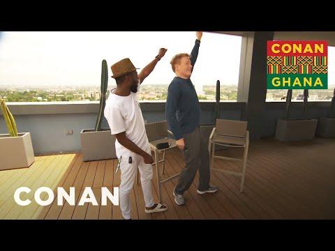 Conan Learns About Ghanaian Customs   CONAN on TBS