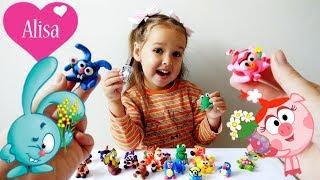 Алисе пришла ПОСЫЛКА Много игрушек Развлечение для детей Детский канал Little baby Алиса