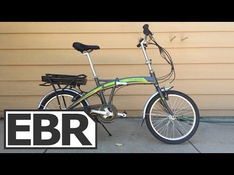 Vilano ION Video Review - Cheap $700 Folding Electric Bike
