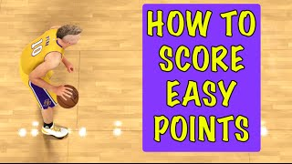 How to Score Easy Points : : NBA 2K16 Tutorial