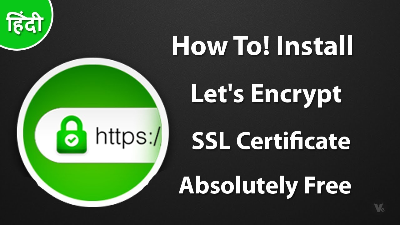 How to install lets encrypt free ssl certificate 2017 youtube how to install lets encrypt free ssl certificate 2017 1betcityfo Images