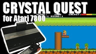 Crystal Quest Review for Atari 7800