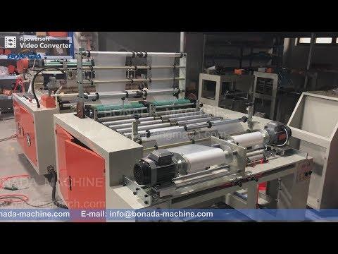 GBDR-400*2 Rolling Flat Bag Making Machine