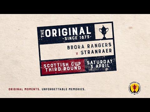 Brora Rangers Stranraer Goals And Highlights