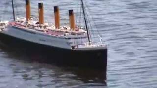 1:150 Scale Model RC RMS Titanic 1800mm long