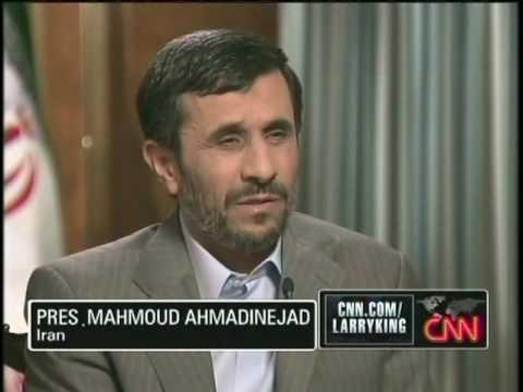 Mahmoud Ahmadinejad on Larry King 1 of 5