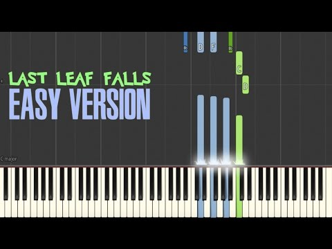 Last Leaf Falls Easy Version | Synthesia Tutorial