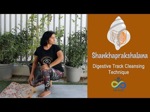 Natural remedy for constipation in yoga | Shankhaprakshalana | Cleansing Yoga Flow