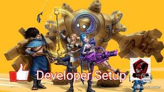 League Of Legends Wildrift Alpha Test Developer Setup