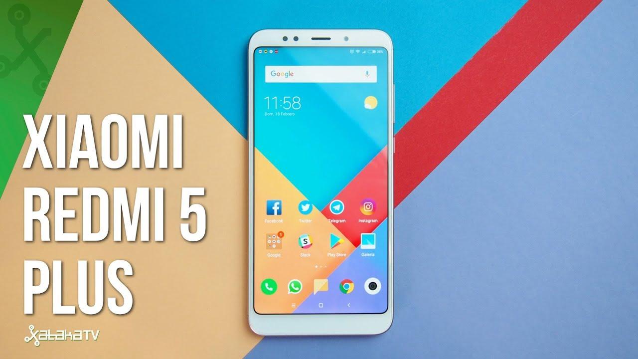 8e361083ae2 Xiaomi Redmi 5 Plus, análisis. Review con características, precio y  especificaciones.