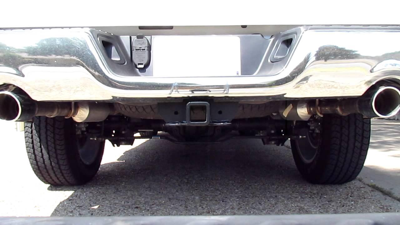 2011 Dodge Ram 1500 57 Hemi Stock Exhaust Youtube Premium