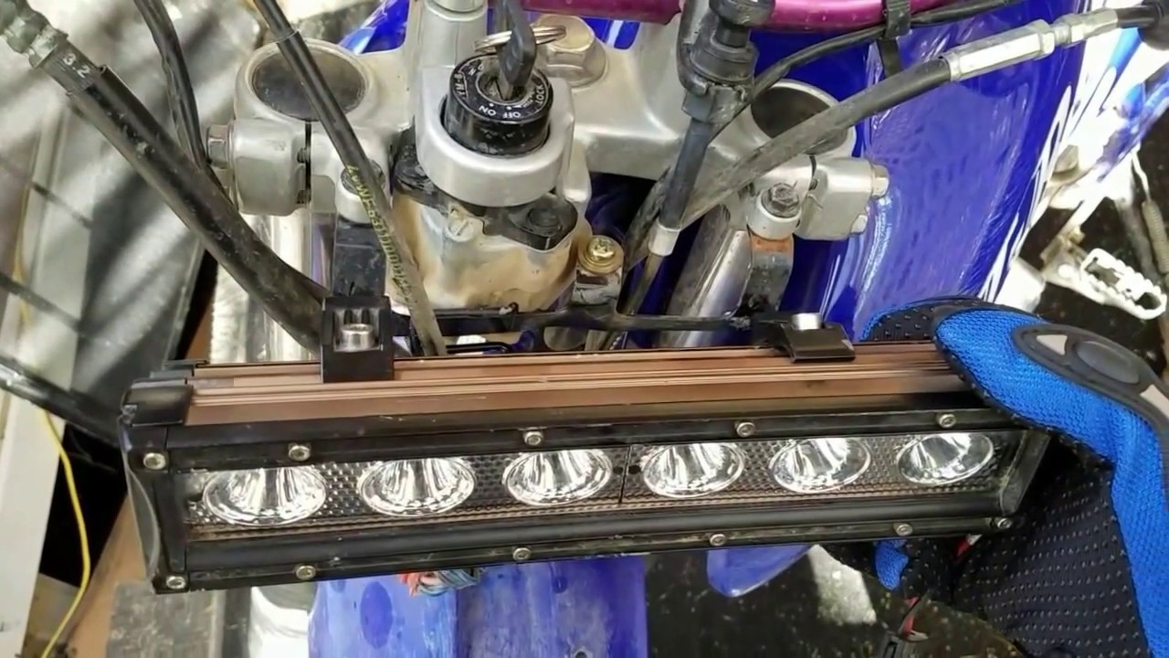 maxresdefault how to install led headlight on motorcycle youtube YZ450F at gsmx.co