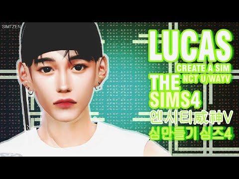 nct/wayv-the-sims-4-:-lucas-(create-a-sim-remake-ver.)-|-심즈4-:-엔시티/웨이션브이-루카스-(심만들기)
