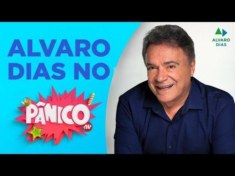 Senador Alvaro Dias é entrevistado pelo programa Pânico da Jovem Pan