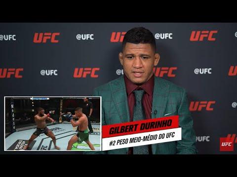 Gilbert Durinho analisa sua vitória sobre Tyron Woodley | UFC 264